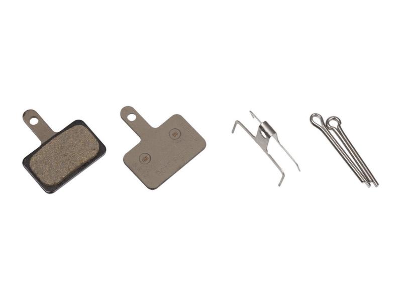 Торм. колодки, для диск т., B01S, полимерн., c шплинтом, (1пара)
