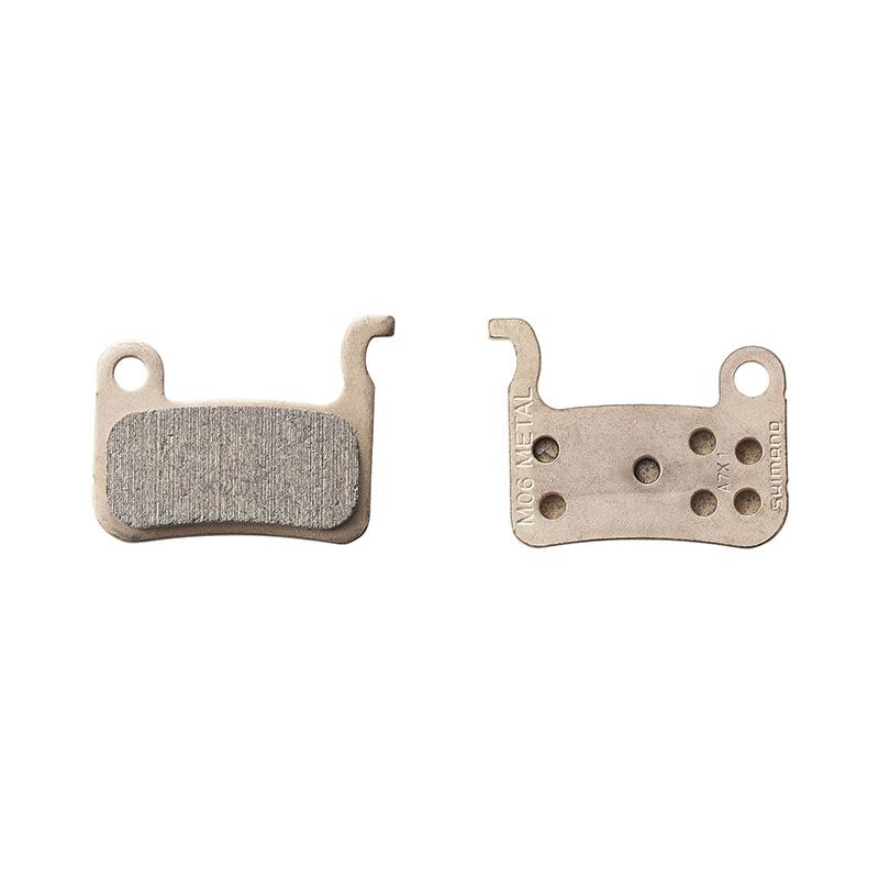 Торм. колодки, для диск т., M06, пара, метал