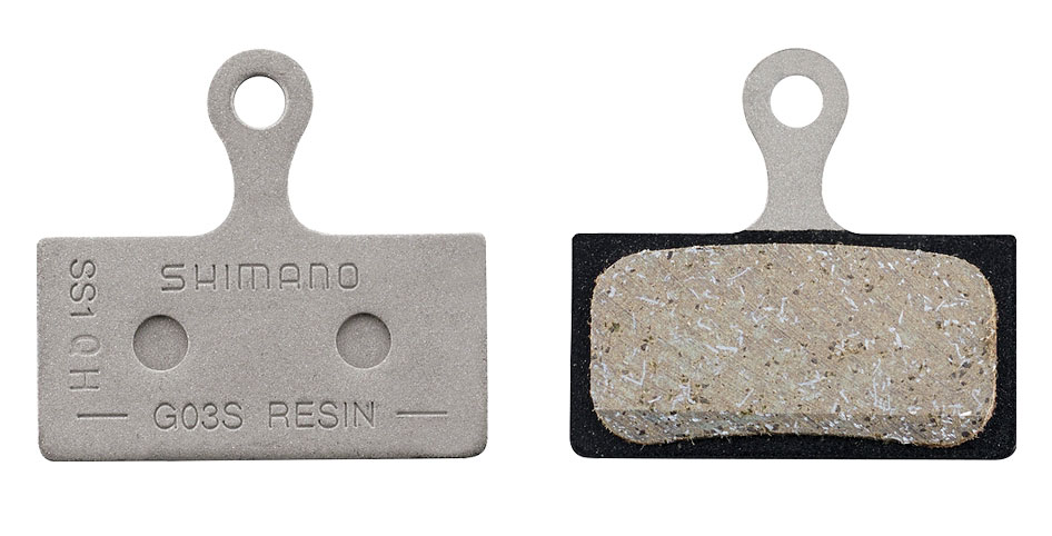 Торм. колодки, для диск т., G03S, полимерн., пара, с пружин, с шплинтом